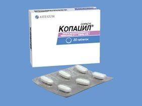 Копацил таб.10 :: Инструкция :: Описание препарата :: Цена Копацил таб.10 заказ и доставка по Киеву. 81563